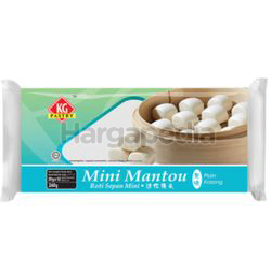 KG Pastry Oriental Buns Mini Mantou Plain 12s 240gm