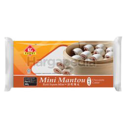 KG Pastry Oriental Buns Mini Mantou Chocolate 12s 240gm