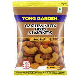 Tong Garden Cashew Nuts Mixed Almonds Smoke 33gm