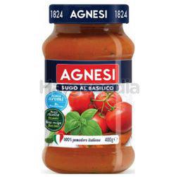 Agnesi Basilico Pasta Sauce 400gm