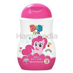 B&B Kids Hair & Body Wash Pinky Pie 280ml
