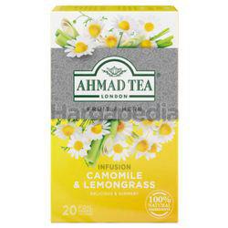 Ahmad Tea Infusion Camomile & Lemongrass 20s