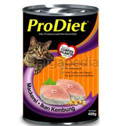 Pro Diet Can Cat Food Mackerel 400gm