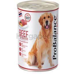 Pro Balance Can Dog Food Beef 400gm