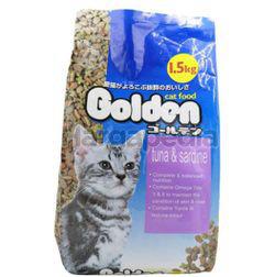 Golden Cat Tuna & Sardine 1.5kg