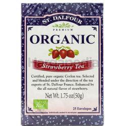St Dalfour Organic Strawberry Tea 25s