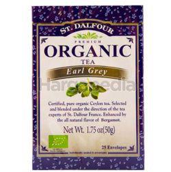St Dalfour Organic Earl Grey Tea 25s