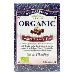St Dalfour Organic Black Cheery Tea 25s