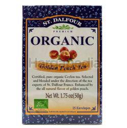 St Dalfour Organic Golden Peach Tea 25s