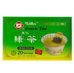 Ten Ren Green Tea Bags 20x2gm