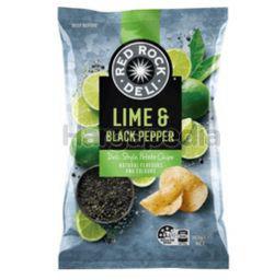 Red Rock Deli Lime & Black Pepper Potato Chip 165gm