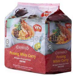 Vit's Penang White Curry Noodles 4x116gm