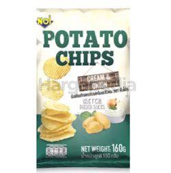 NOi Potato Chips Cream & Onion 160gm