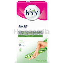 Veet Wax Strips Dry Skin 20s