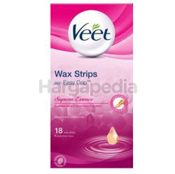 Veet Wax Strips Supreme Essence 18s