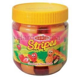 Jammy Stripes Peanut Butter Strawberry 340gm