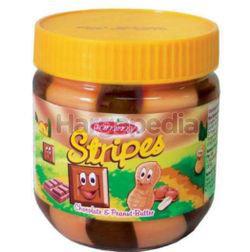 Jammy Stripes Peanut Butter Chocolate 340gm