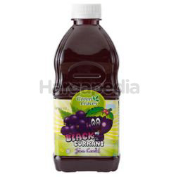 Green Leaves Cordial Blackcurrant 1lit