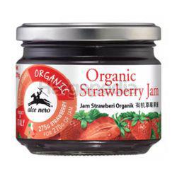 Alce Nero Organic Jam Strawberry 270gm