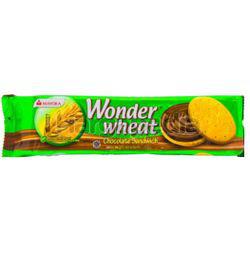 Mayora Wonder Wheat Chocolate Sandwich 155gm