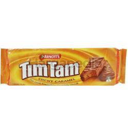 Arnott's Tim Tam Chewy Caramel Biscuit 175gm