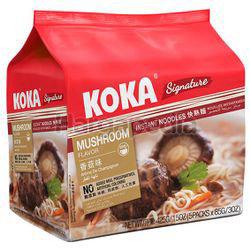 Koka Signature Instant Noodle Mushroom 5x85gm