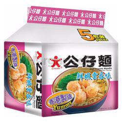 Doll Instant Noodle Shrimp Wanton 5x100gm