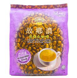 Home's Cafe  2in1 No Sugar White Coffee 15x25gm