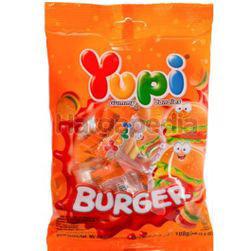 Yupi Gummy Candies Mini Burger 96gm