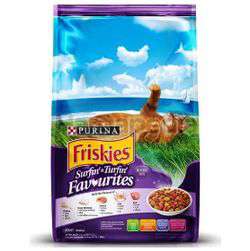 Friskies Dry Cat Surfin & Turfin Favourites 450gm