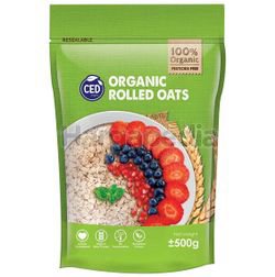 CED Organic Rolled Oat 500gm