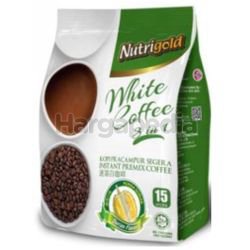 Nutrigold 3in1 White Coffee Durian 15x30gm