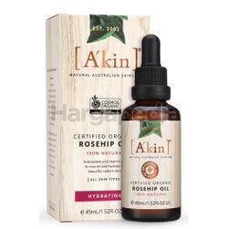 A'Kin Certified Organio Rosehip Oil 45ml