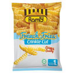 Ramly French Fries Crinkle Cut 1kg