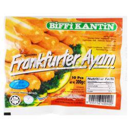 Biffi Kantin Chicken Frankfurters 300gm