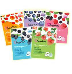 Happy Mask Berries Garden Face Mask 1s