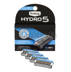 Schick Hydro 5 Sense Hydrate Refills 4s