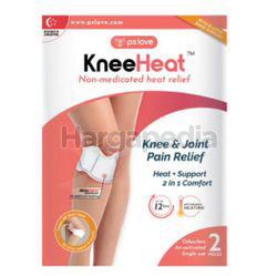 PS Love Knee & Joint Heat Pain Relief Patch 2s
