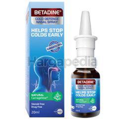 Betadine Cold Defence Nasal Spray Adult 20ml