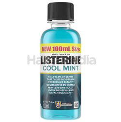 Listerine Cool Mint Mouth Rinse 100ml