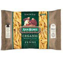 San Remo Organic Penne 500gm