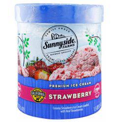 Sunnyside Farms Ice Cream Strawberry 1.42lit