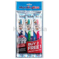 Morning Kiss Optimus Colour Toothbrush 2s+1s