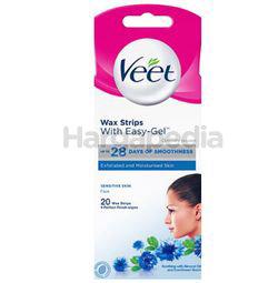 Veet Face Wax Strip Sensitive Skin 20s