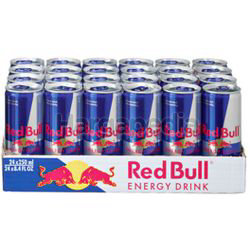 Red Bull Blue Silver Energy Drink 24x250ml