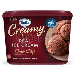 Bulla Creamy Classics Ice Cream Choc & Chic 2lit