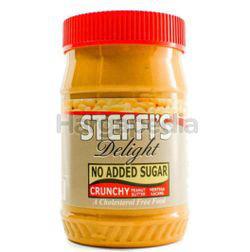 Steffi's Delight Crunchy Peanut Butter 453gm