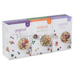 Yogood 6 Gourmet Muesli Variety Pack Cereal 6x40gm