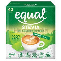 Equal Stevia Sweetener Sticks 40s