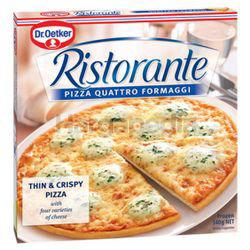 Dr. Oetker Quattro Formaggi Ristorante Pizza 355gm